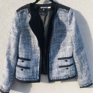 Karl Lagerfeld Tweed Blazer